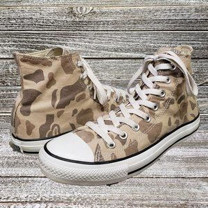 CONVERSE Chuck Taylor All Star High Top Camo Sz 8